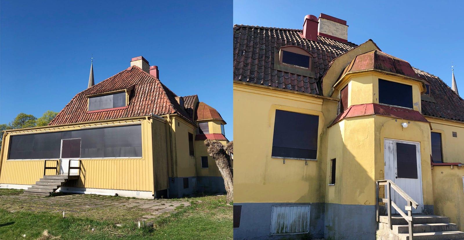 Nu pågår omfattande renoveringar för Strandrestaurangen i Mariefred