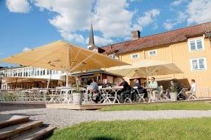 Gripsholms Värdshus Uteservering