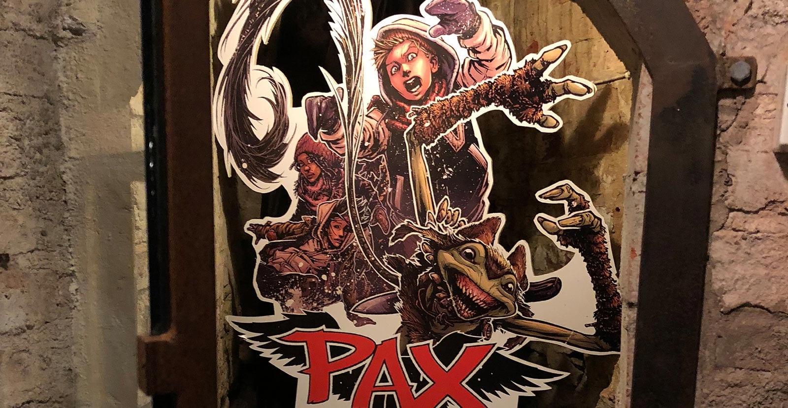 Pax bokserie utspelar sig bland annat på Gripsholms Värdshus i Mariefred