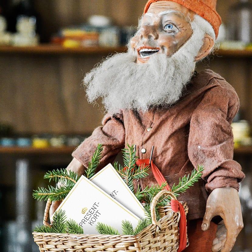 Tomtens julklapp – ett presentkort