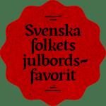 Svenska Folkets Julbordsfavorit